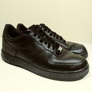 Nike Sz 10, Air Force 1 Low AF1, 315122-001, Black